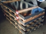 Rozsdamentes szálcsiszolt lemez 0.6x1000x2000 K240