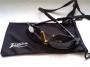 Védőszemüveg fekete UV 400